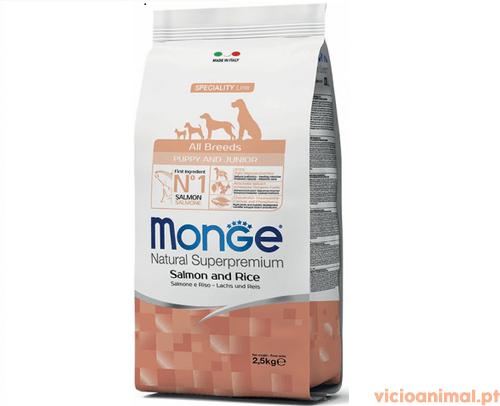 Monge All Breeds Puppy Salmão & Arroz